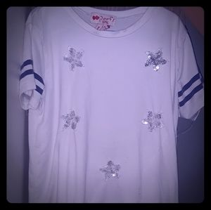 T shirt with stars